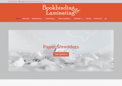 Book Binding & Laminating
